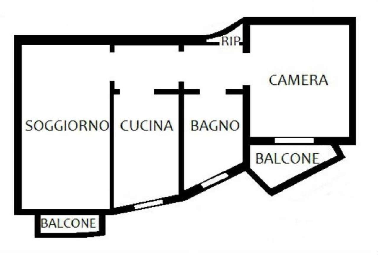 Vendita  bilocale Melzo Monte Cervino 1 1018839