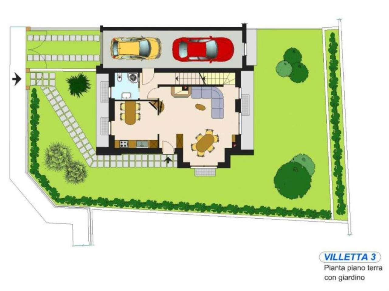 Villa in vendita a Valmorea, 4 locali, prezzo € 348.000 | Cambio Casa.it
