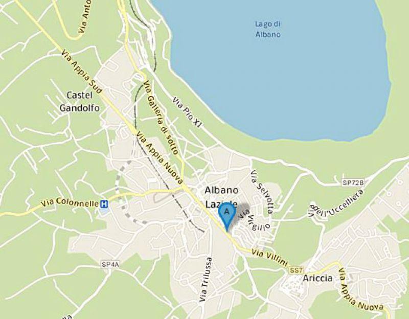 Affitto  bilocale Albano Laziale Borgo Garibaldi 1 1081342