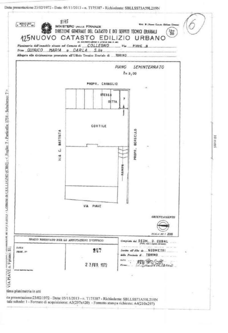 Magazzino in vendita a Collegno, 1 locali, prezzo € 10.000 | Cambio Casa.it