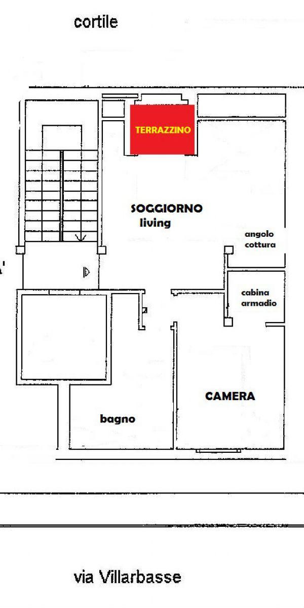 Affitto  bilocale Torino Via Villarbasse 1 1091372