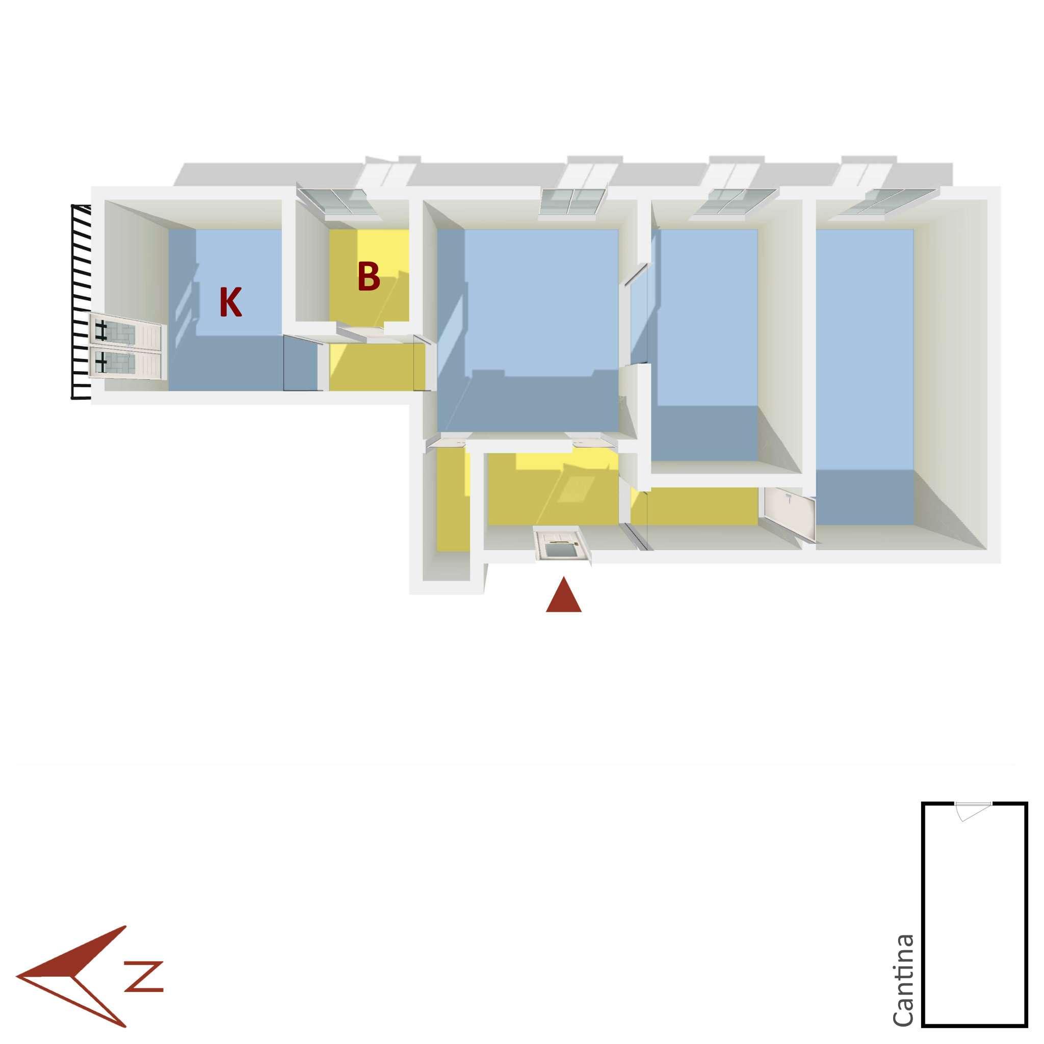 Vendita  bilocale Genova Via Dell'arena 1 674307