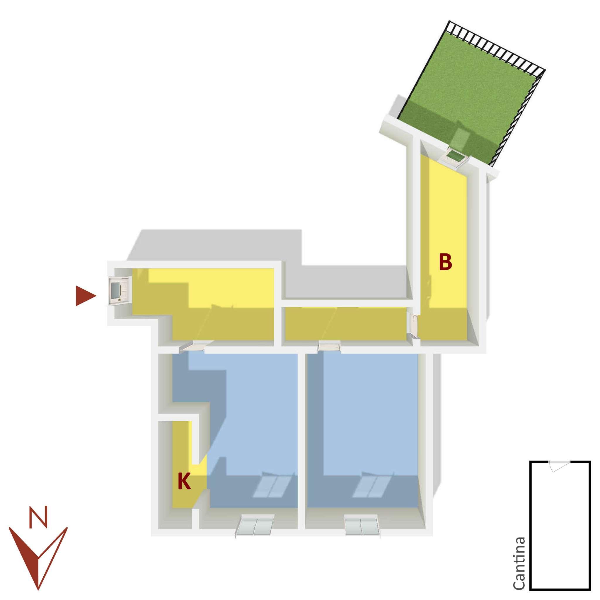 Vendita  bilocale Rapallo Salita Torre Menegotto 1 906768