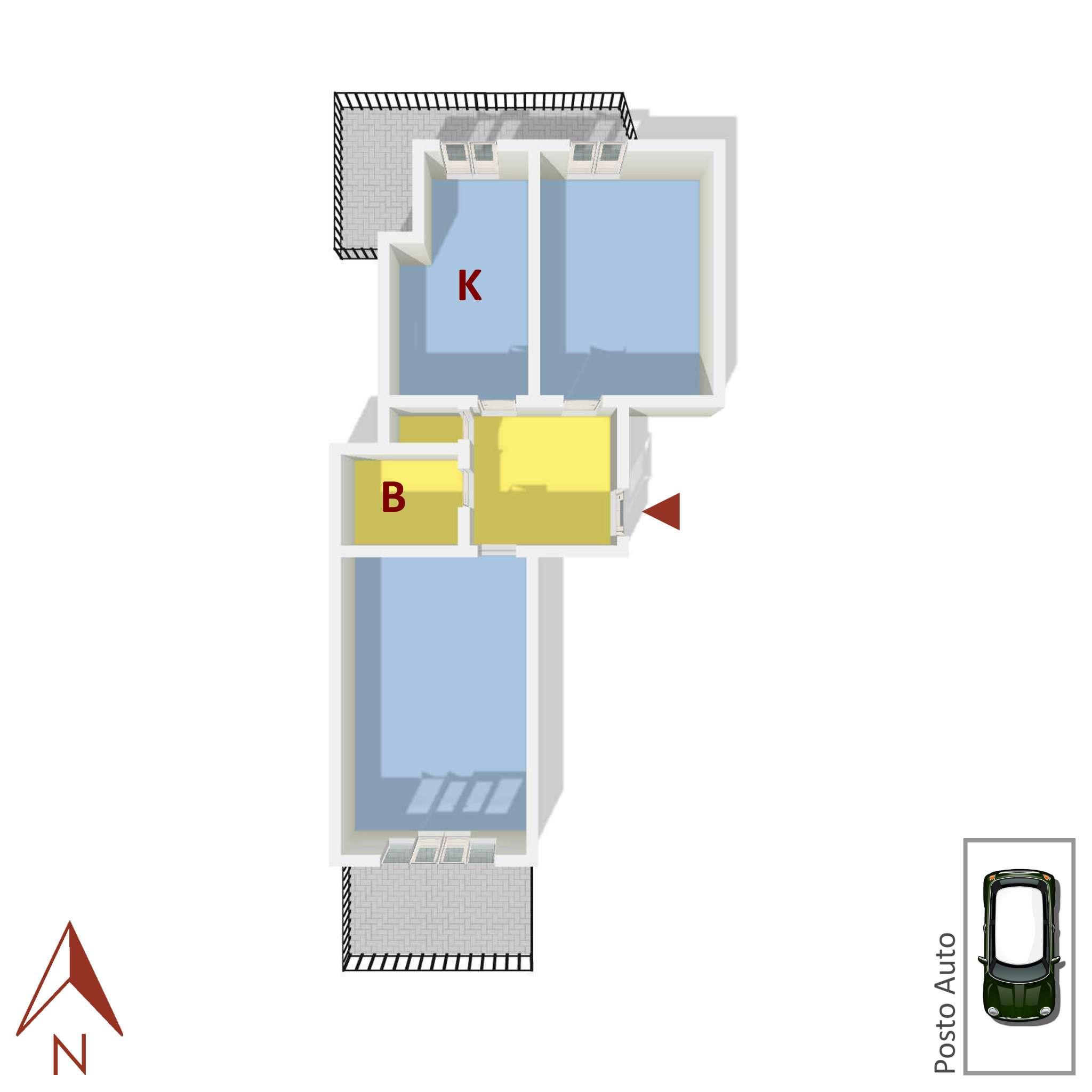 Vendita  bilocale Rapallo Via Torre Menegotto 1 870478