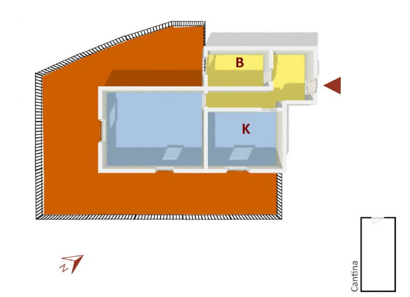 Vendita  bilocale Genova Via Delle Gavette 1 1075937