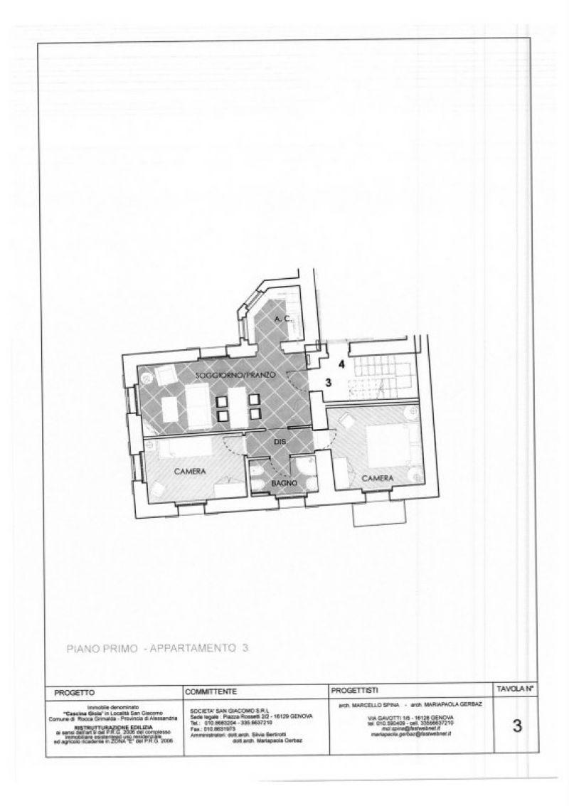 Vendita  bilocale Rocca Grimalda Località S. Giacomo 1 899620