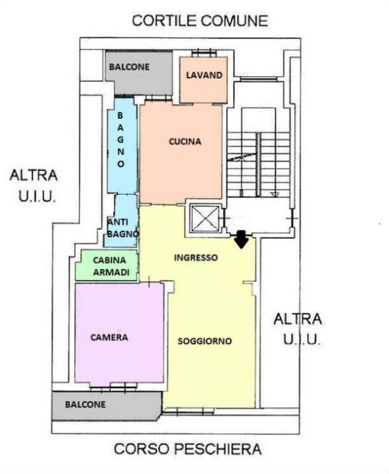 Vendita  bilocale Torino Corso Peschiera 1 950581