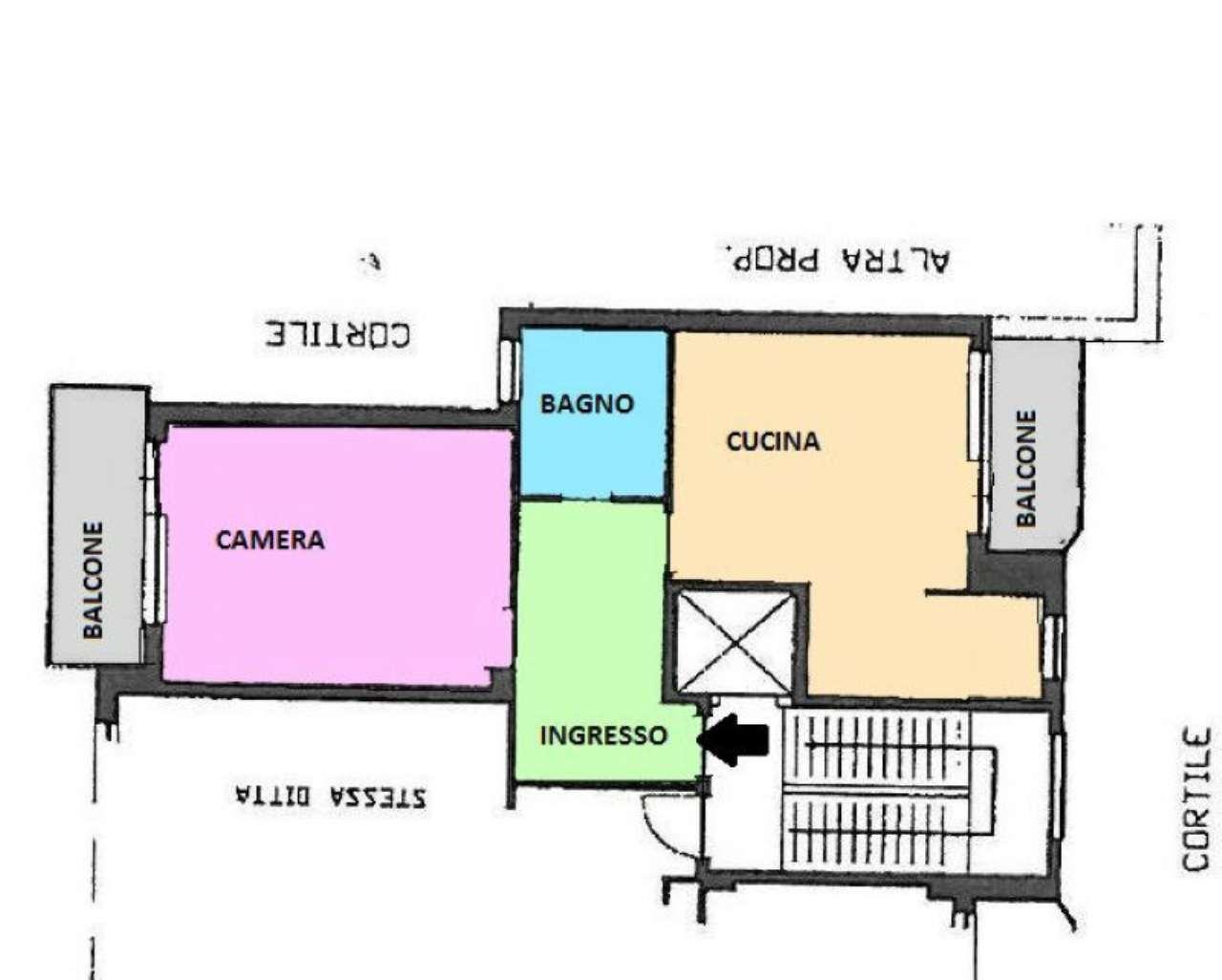 Vendita  bilocale Torino Via Isernia 1 1082173