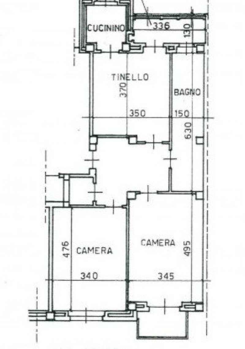 Appartamento in vendita a Torino, 3 locali, zona Zona: 7 . Santa Rita, prezzo € 120.000 | CambioCasa.it