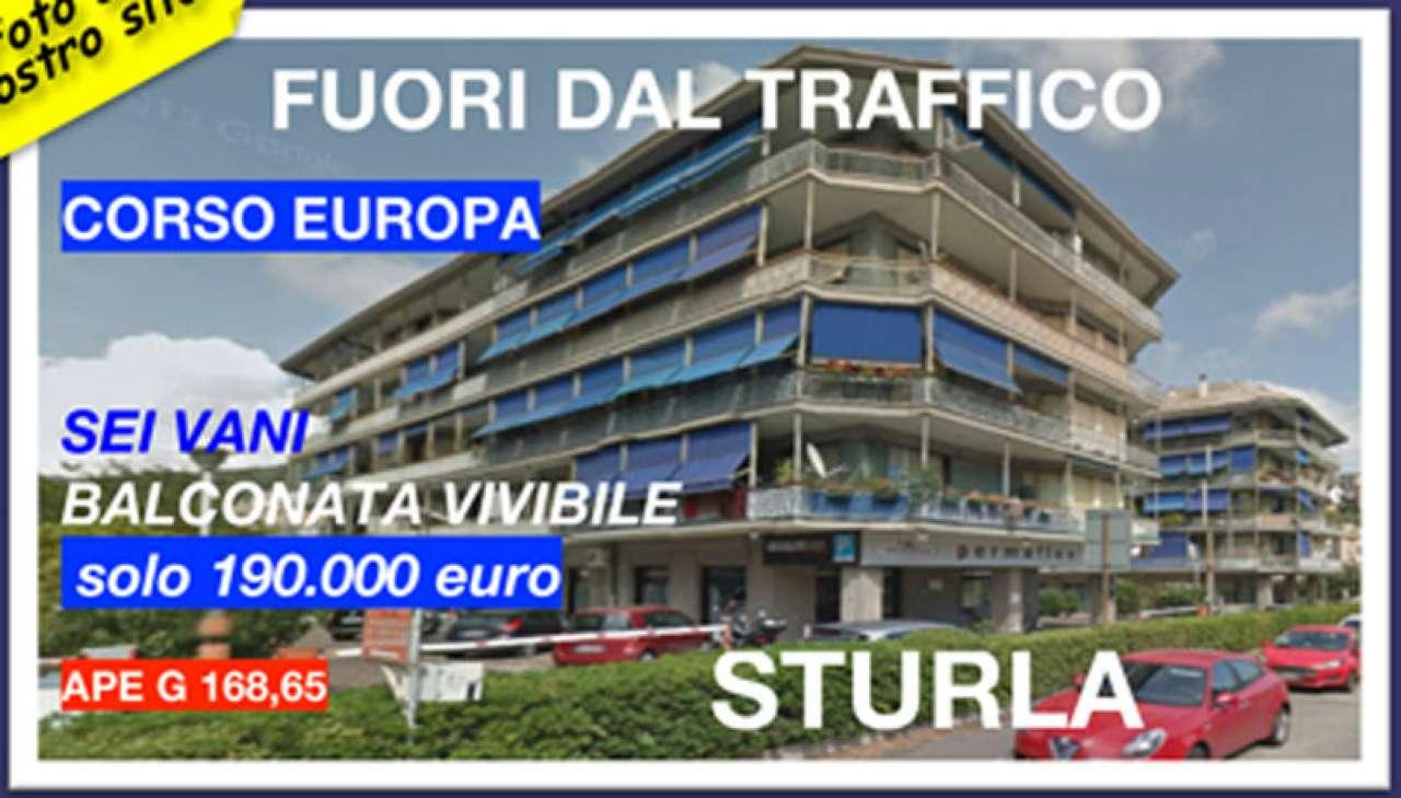 Appartamento in Vendita a Genova Semicentro Est: 5 locali, 90 mq