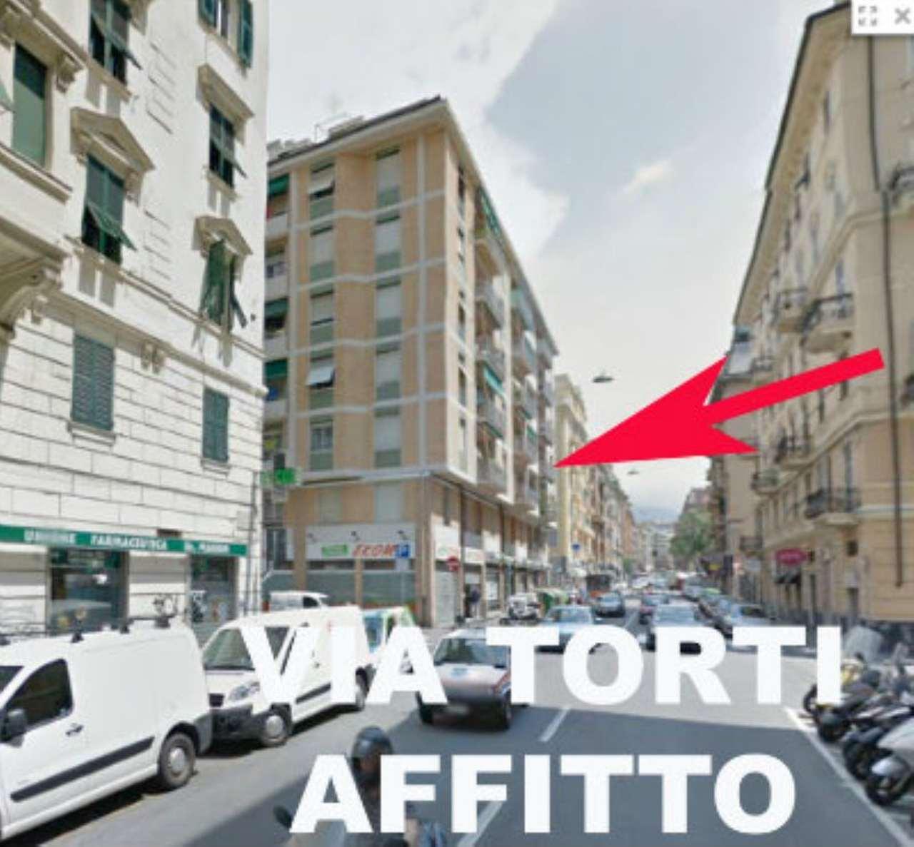 Appartamento in Affitto a Genova Semicentro: 5 locali, 120 mq