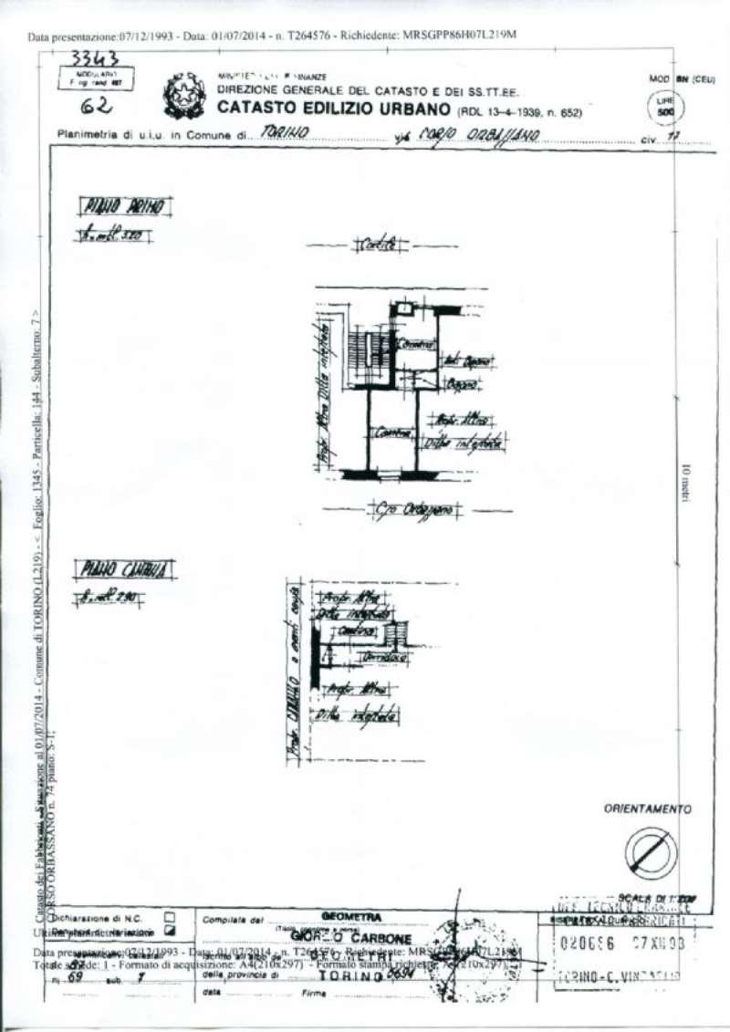 Vendita  bilocale Torino Corso Orbassano 1 870487