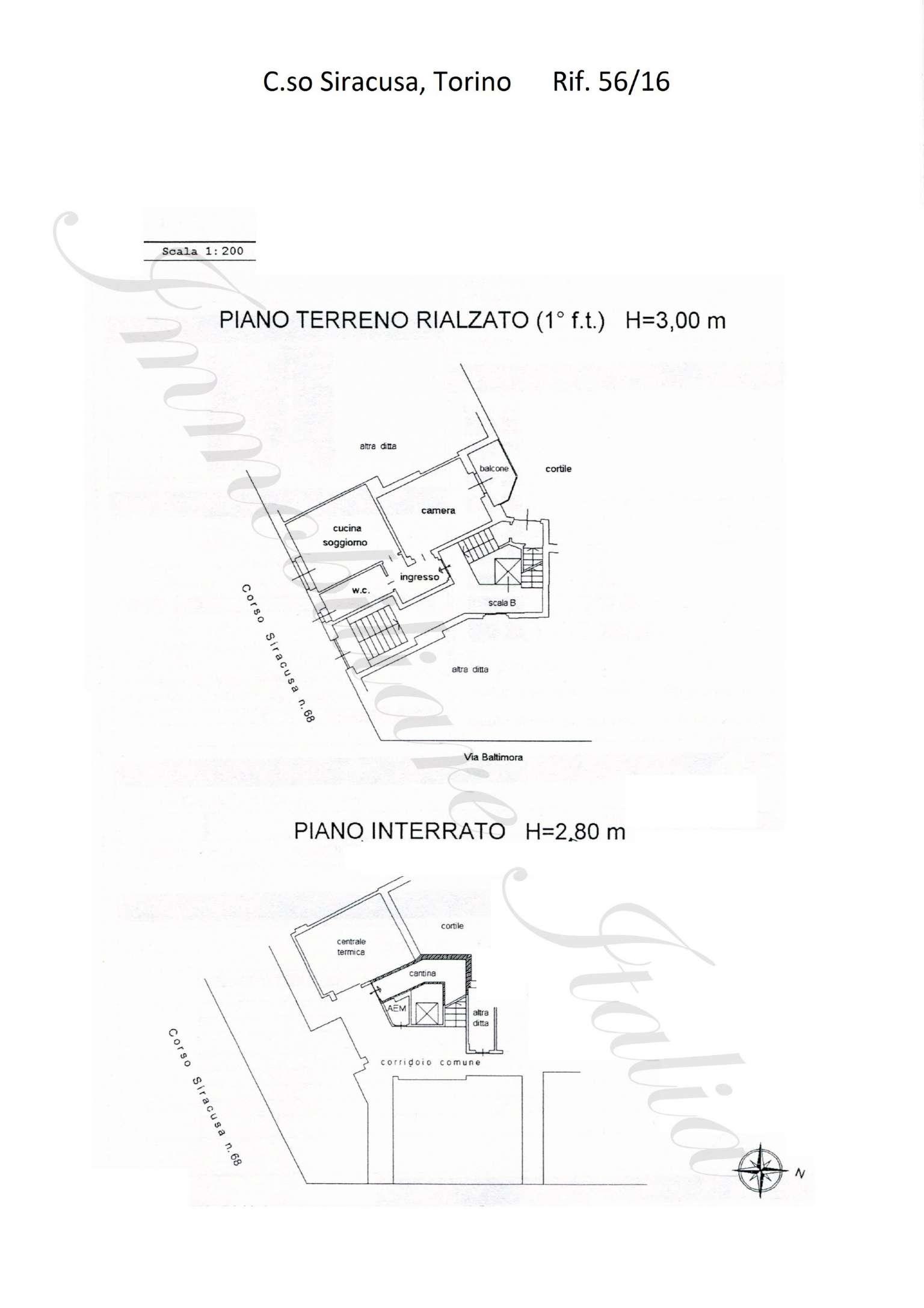 Affitto  bilocale Torino Corso Siracusa 1 1034134