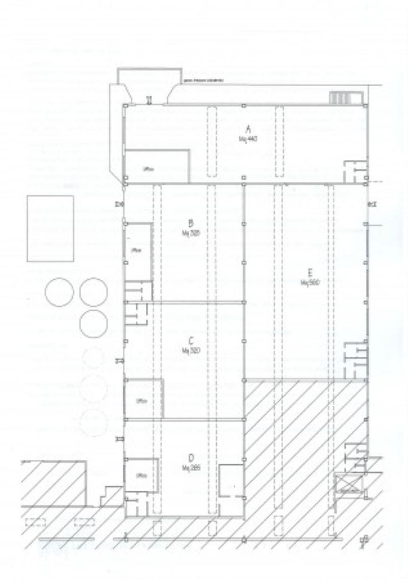 Capannone in affitto a Como, 2 locali, zona Zona: 7 . Breccia - Camerlata - Rebbio, prezzo € 1.450 | Cambio Casa.it