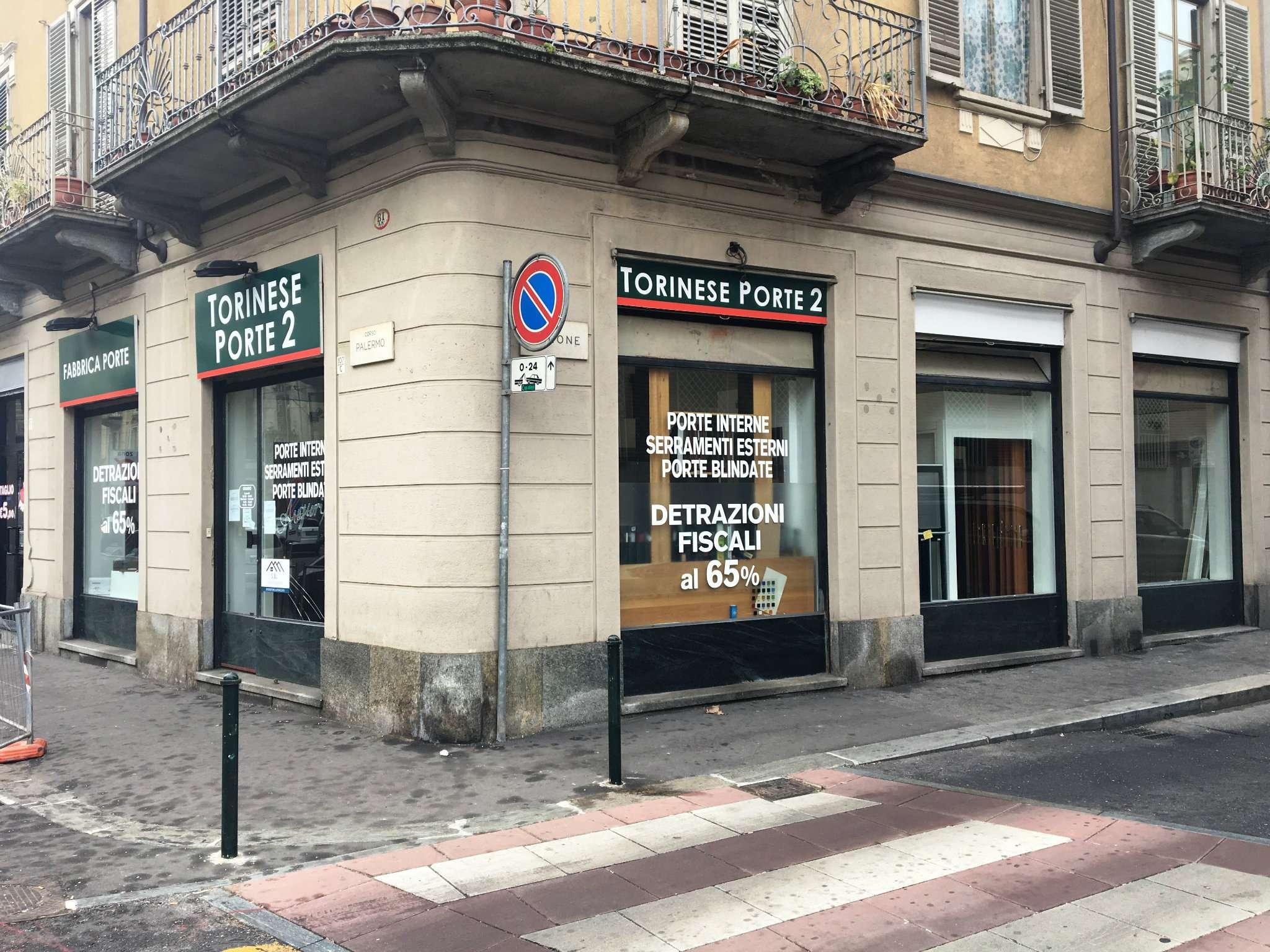 Immagine immobiliare Locale Commerciale - Corso Palermo 107 Ampio locale open space di circa 90 mq con servizi e locale caldaia.Locale commerciale angolare di 5 vetrine, riscaldamento autonomo, antifurto canna fumaria.Ingresso posteriore dal cortile interno...