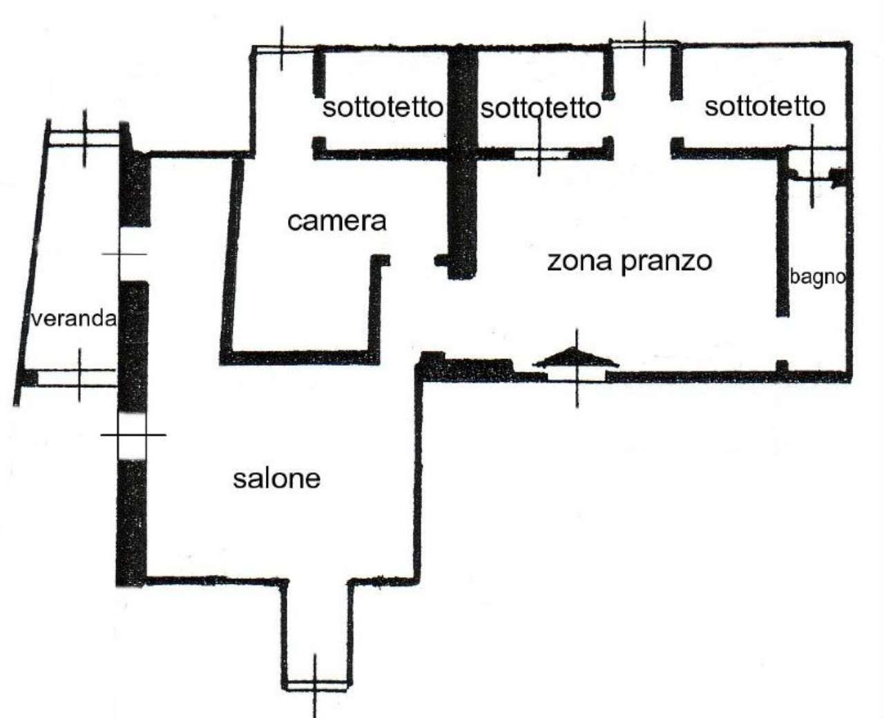 Vendita  bilocale Genova Via Ganduccio 1 836835