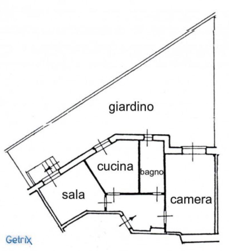 Vendita  bilocale Genova Via Montani 1 897722