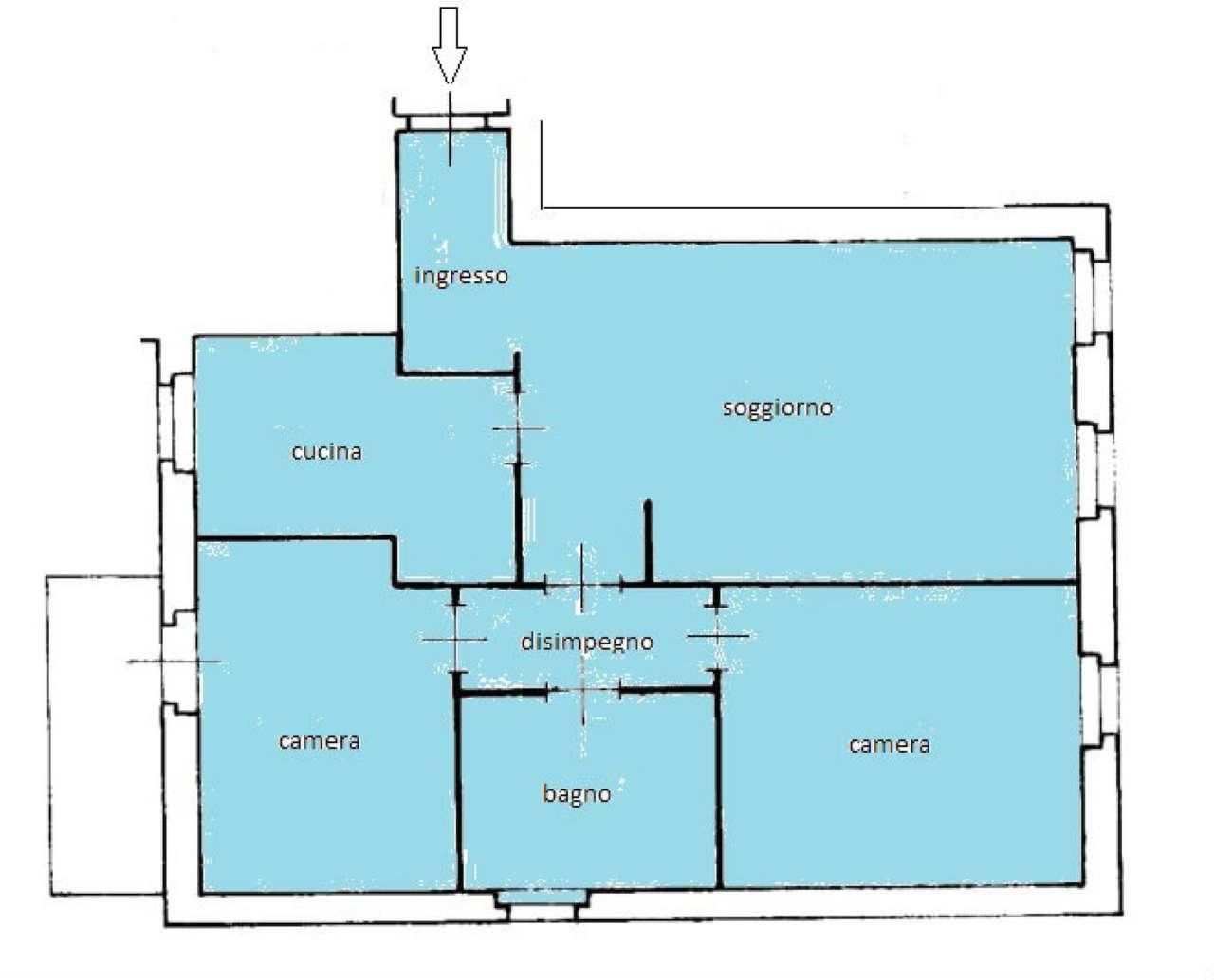 Appartamento in affitto a Sondrio, 3 locali, prezzo € 450 | CambioCasa.it