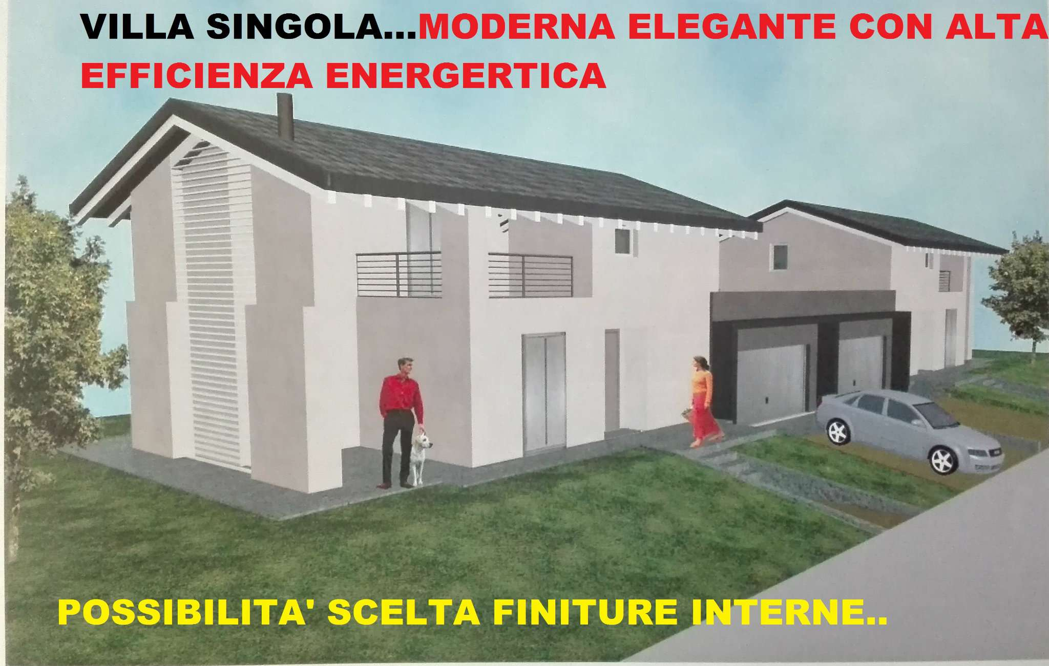Villa in vendita a Molteno, 5 locali, Trattative riservate | Cambio Casa.it