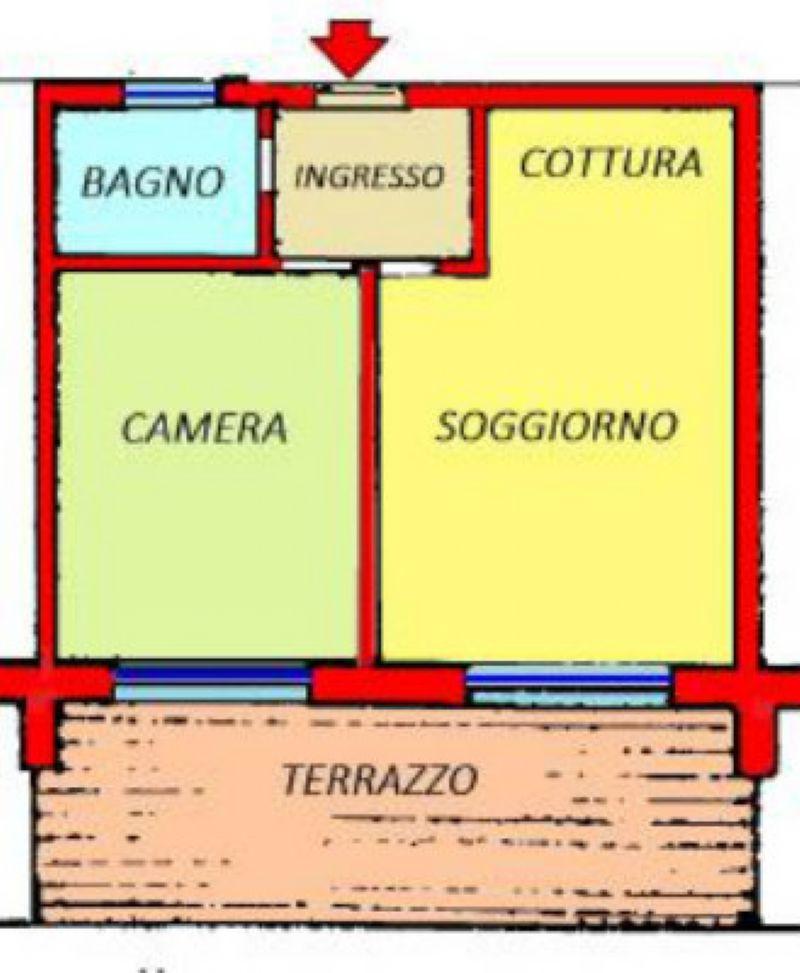 Vendita  bilocale Bordighera Via Conca Verde 1 645982