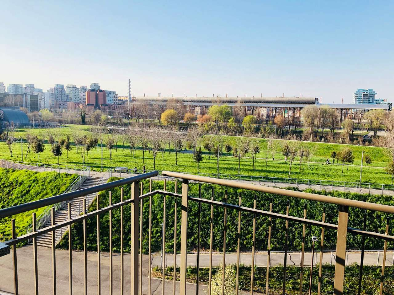 Immagine immobiliare parco dora panoramico ristrutturato con finiture di pregio parco dora nel complesso recente e signorile