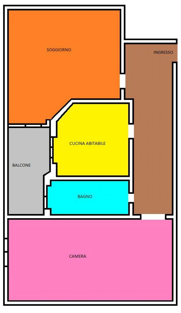 Appartamento in affitto a Corsico, 2 locali, prezzo € 600 | Cambio Casa.it