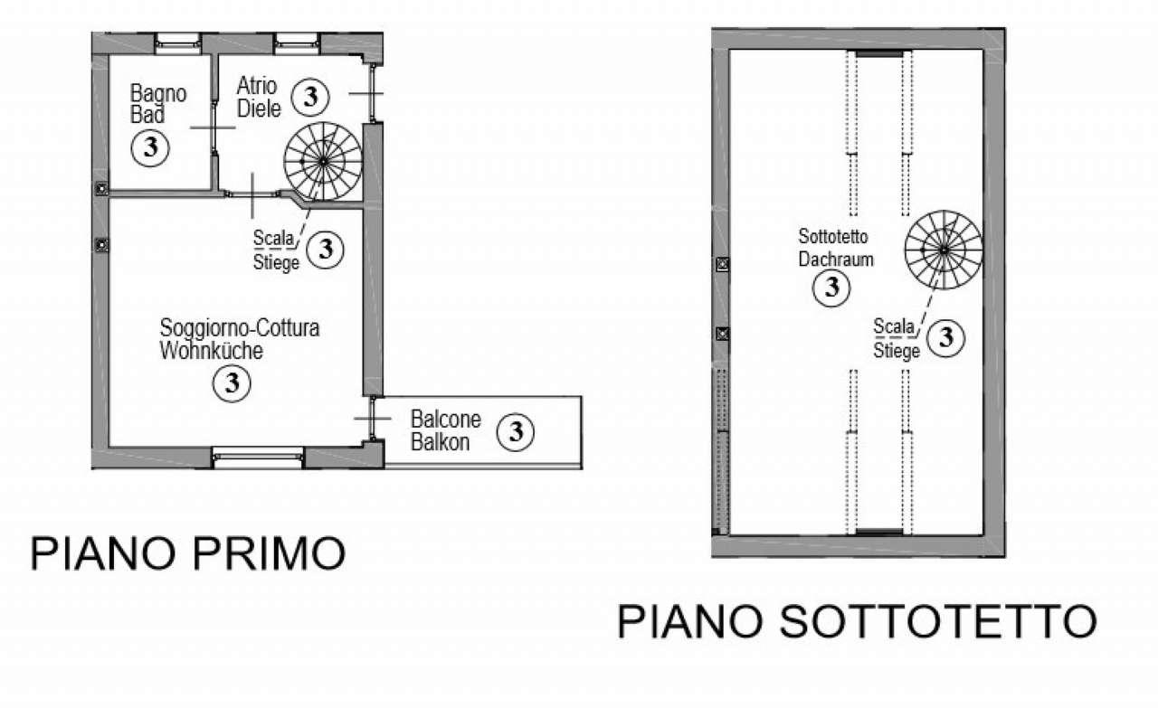Appartamento in vendita a Egna, 2 locali, prezzo € 170.000 | Cambio Casa.it