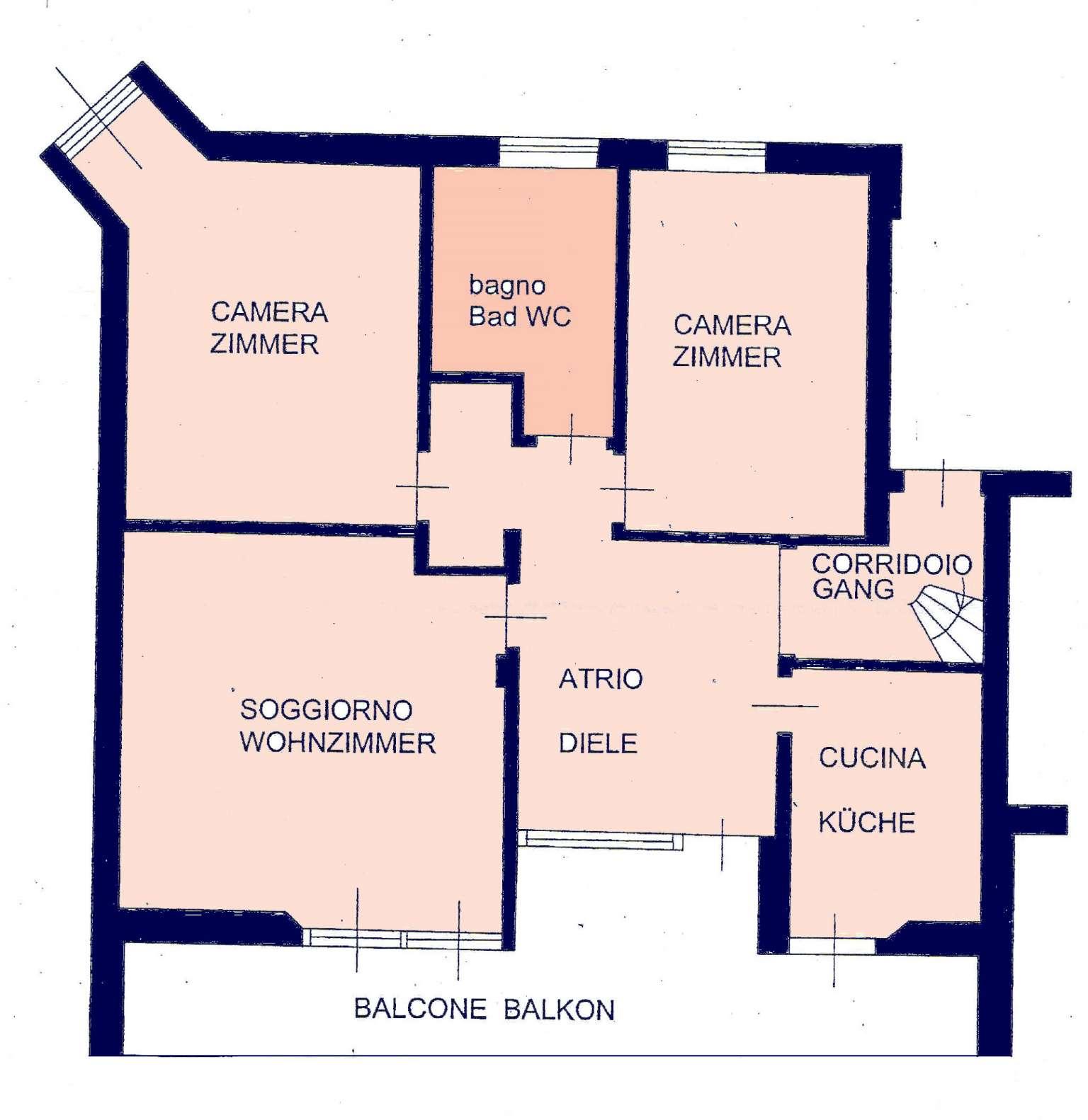 Appartamento in vendita a Terlano, 5 locali, prezzo € 530.000 | CambioCasa.it