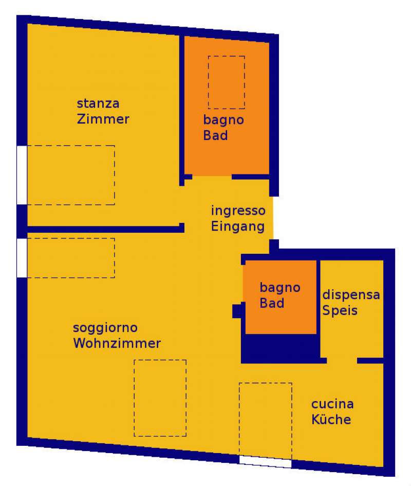 Appartamento in vendita a Terlano, 3 locali, prezzo € 250.000 | CambioCasa.it