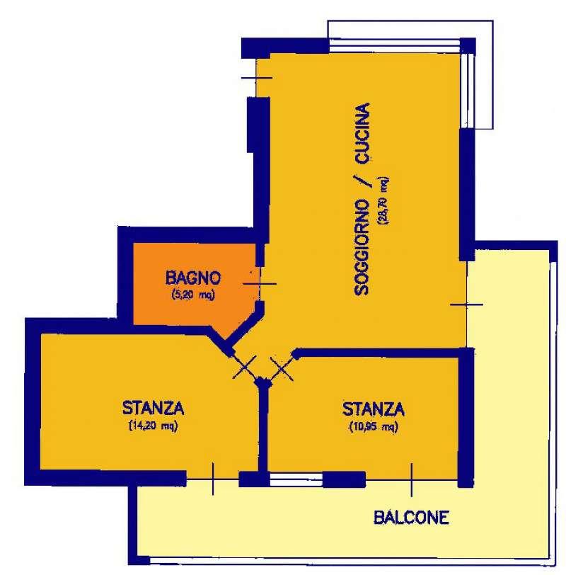 Appartamento in vendita a Bolzano, 3 locali, prezzo € 335.000   CambioCasa.it