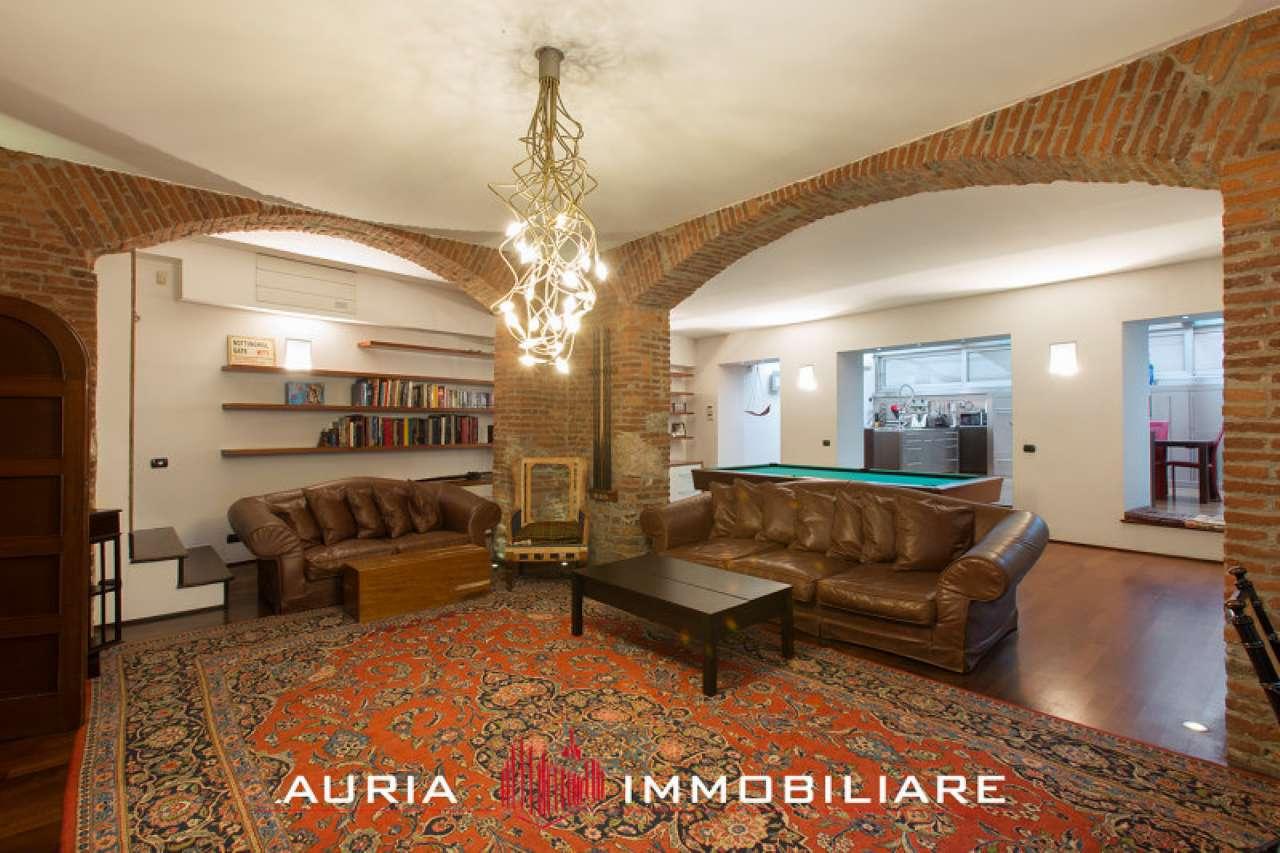 Loft open space in Vendita a Milano 07 Darsena /  Ticinese: 3 locali, 250 mq