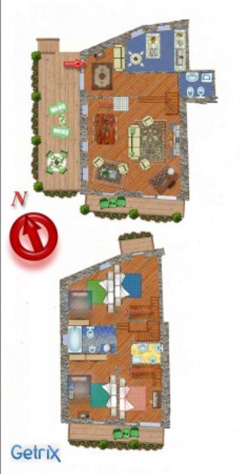 Appartamento in vendita a La Salle, 6 locali, Trattative riservate   Cambio Casa.it