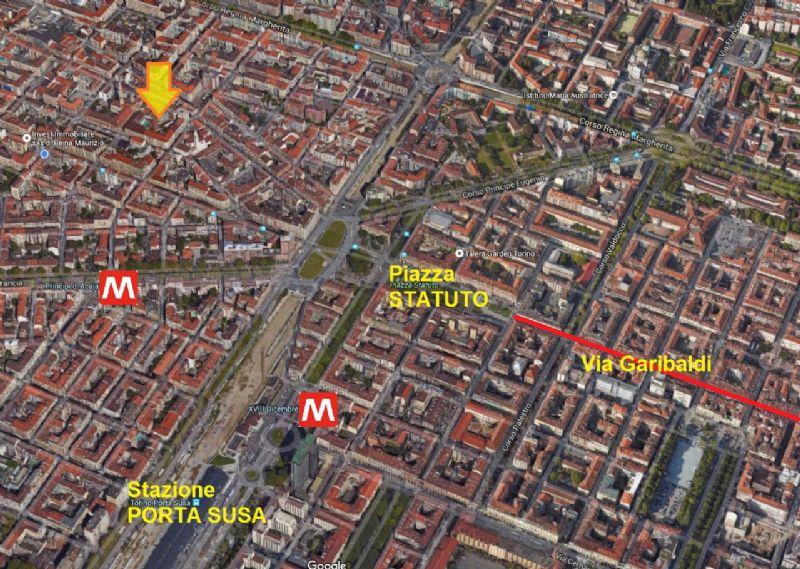 Bilocale Torino Via San Donato 3