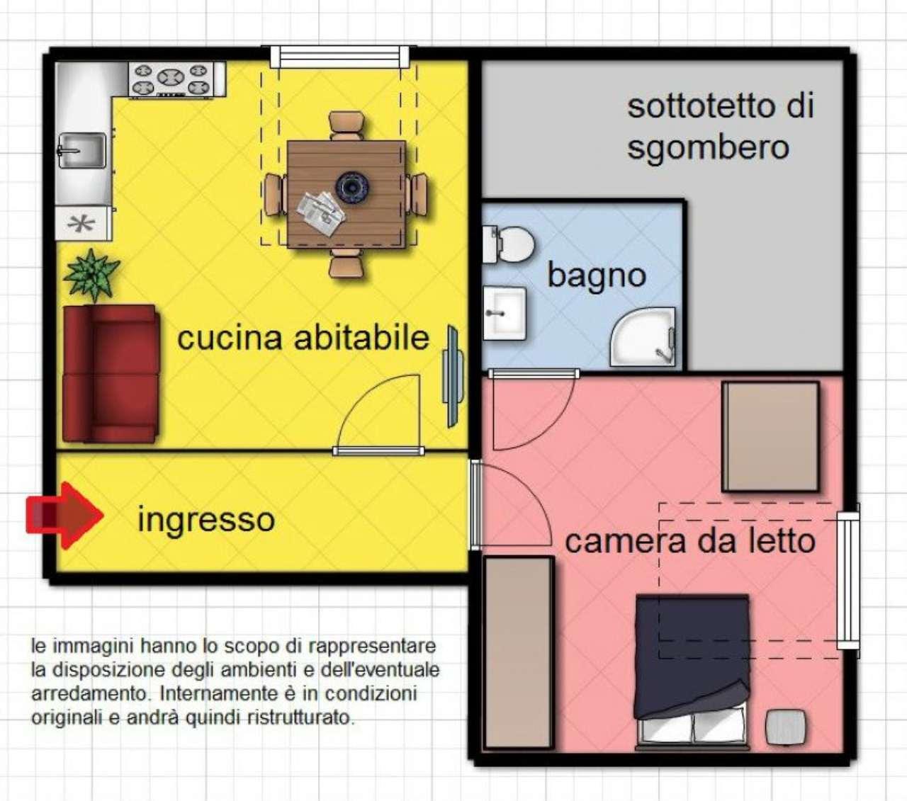 Vendita  bilocale Torino Via Di Nanni 1 870502