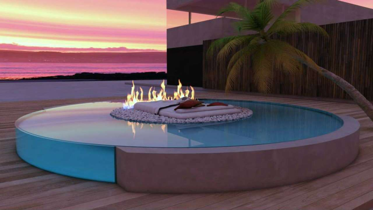 attico piscina