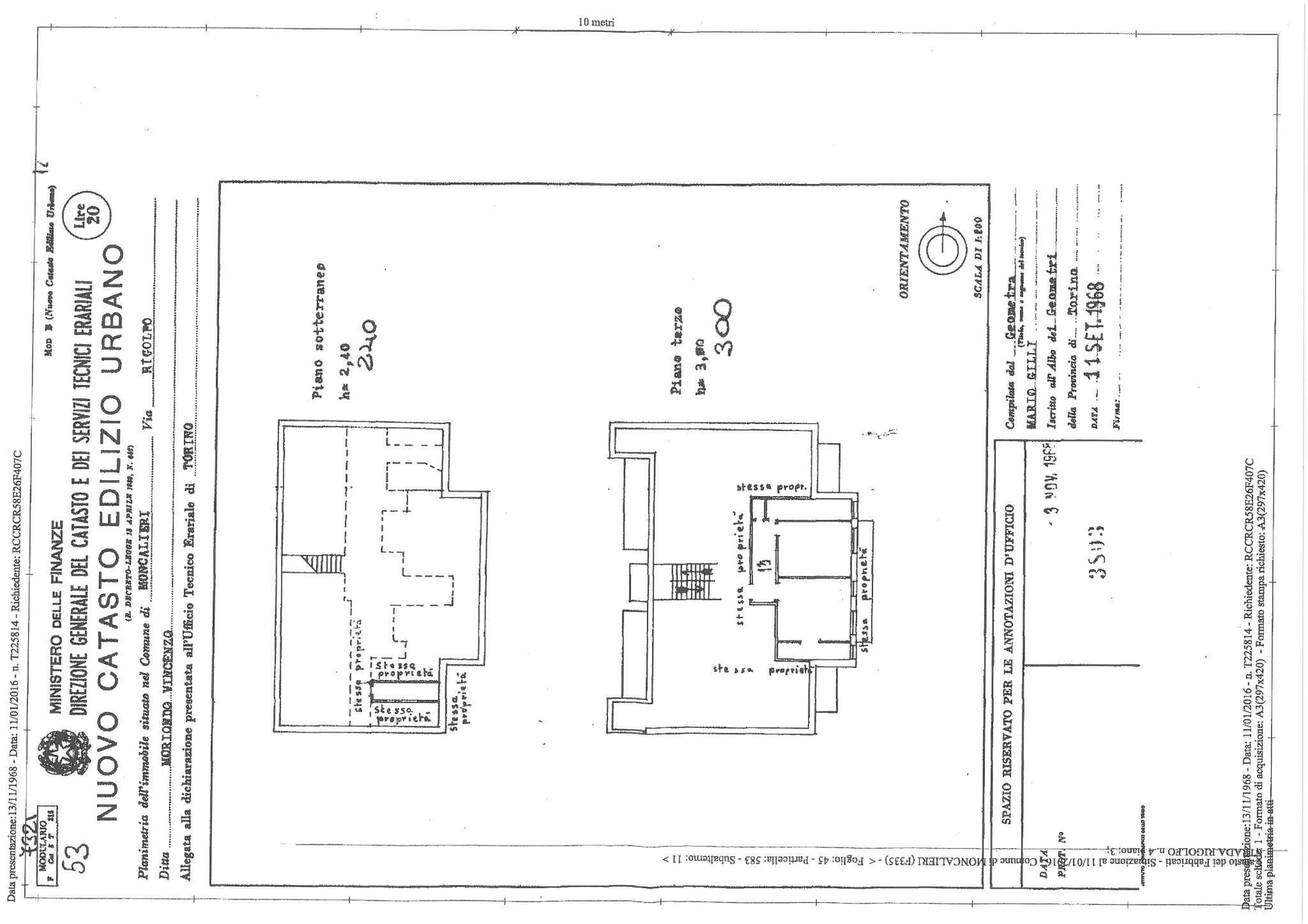 Vendita  bilocale Moncalieri Via Rigolfo 1 834091