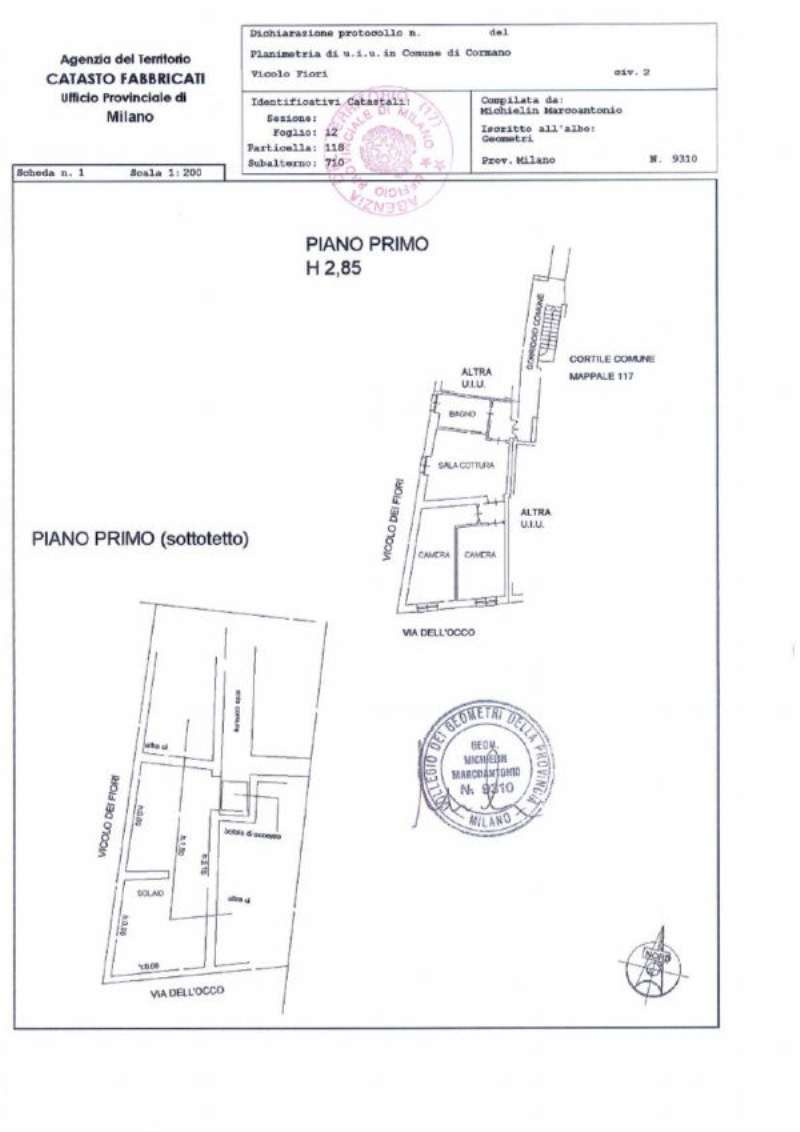 Vendita  bilocale Cormano Via Vicolo Dei Fiori 1 868873