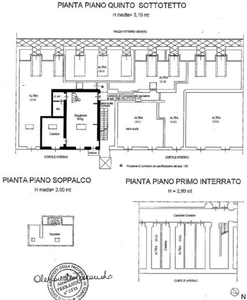 Vendita  bilocale Torino Piazza Vittorio Veneto 1 834662