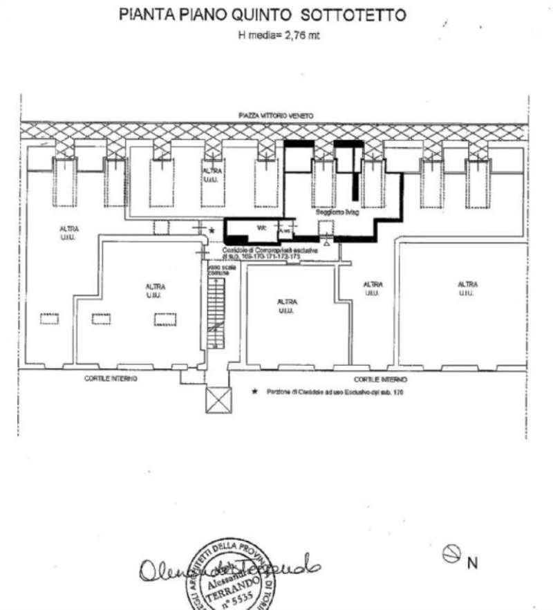 Vendita  bilocale Torino Piazza Vittorio Veneto 1 834663