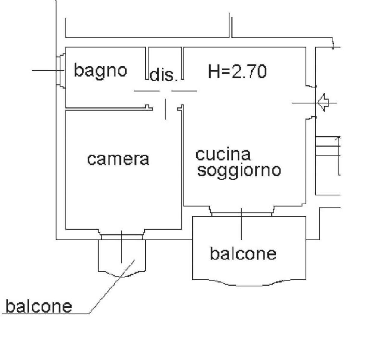 Vendita  bilocale Boltiere Via Via Cesare Battisti 1 922017