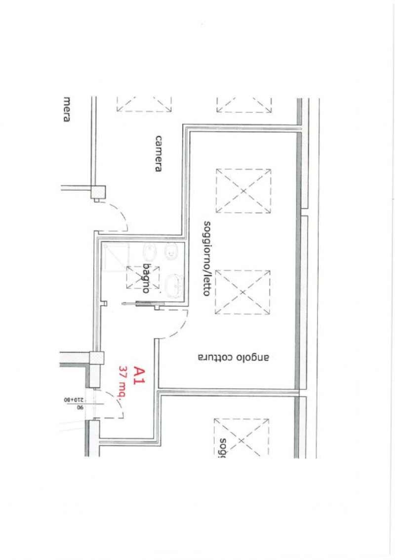 Vendita  bilocale Torino Via Thures 1 954666