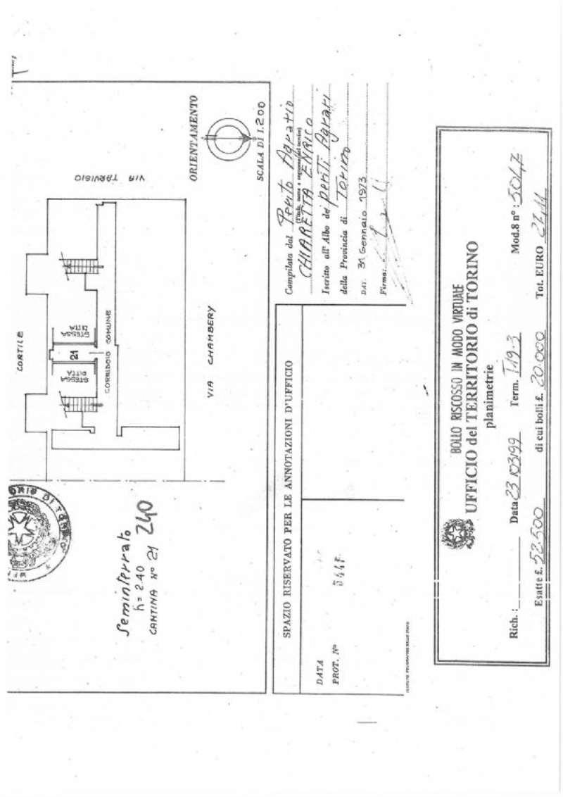 Vendita  bilocale Torino Via Chambery 1 926618