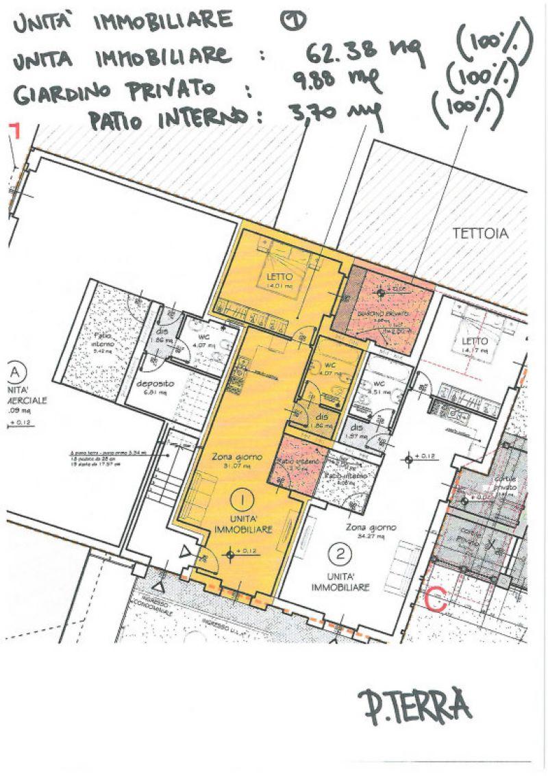 Vendita  bilocale Collegno Piazza Iv Novembre 1 833861