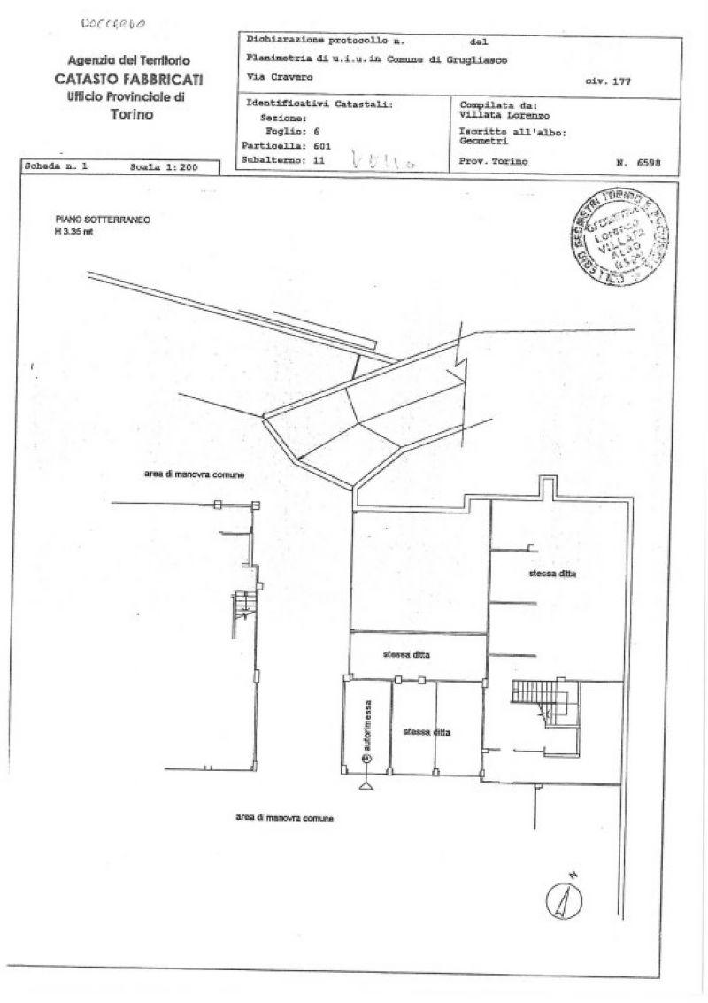 Box / Garage in vendita a Grugliasco, 1 locali, prezzo € 20.000 | Cambiocasa.it