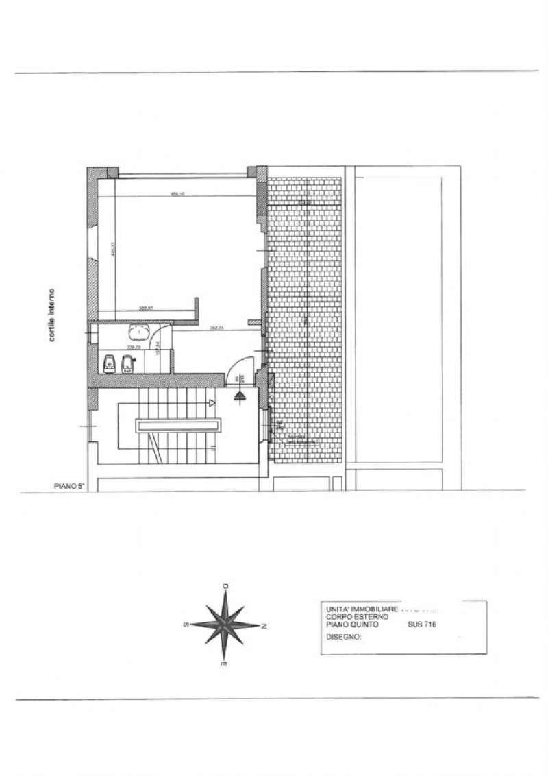 Affitto  bilocale Milano Corso Italia 1 1070578