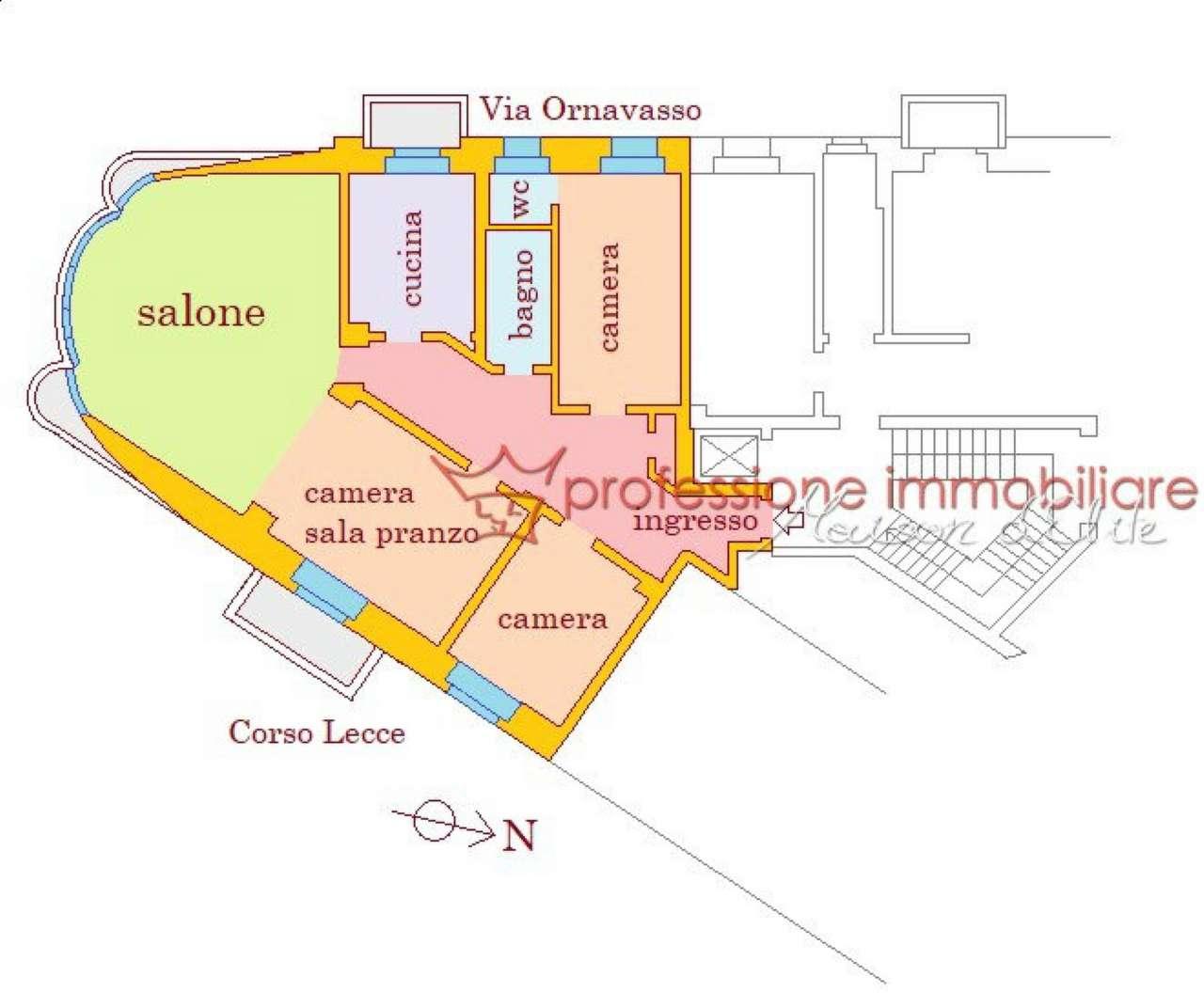 Foto 33 di Appartamento corso Lecce, Torino (zona Cit Turin, San Donato, Campidoglio)