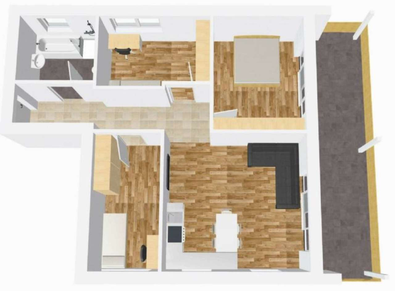 Attico / Mansarda in vendita a Lana, 4 locali, prezzo € 350.000 | Cambio Casa.it