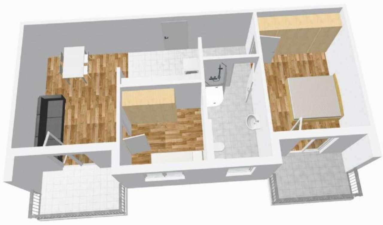 Appartamento in vendita a Vadena, 3 locali, prezzo € 195.000   Cambio Casa.it