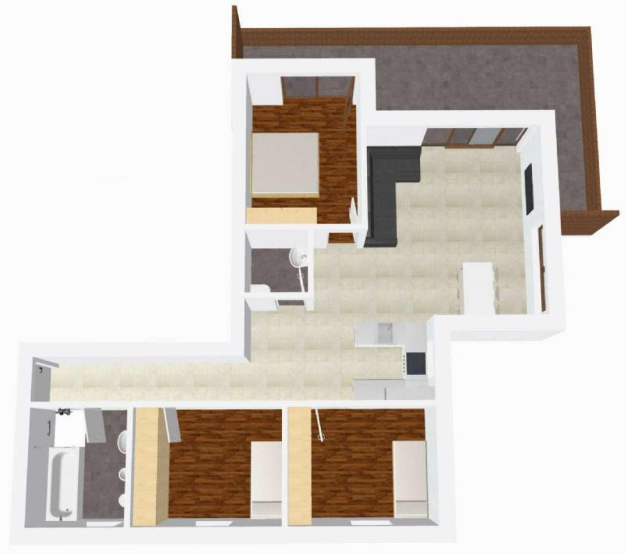 Attico / Mansarda in vendita a Lana, 4 locali, Trattative riservate | Cambio Casa.it