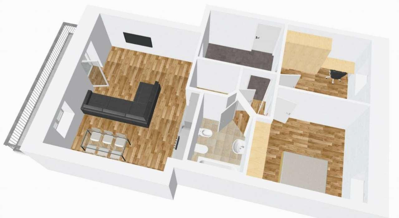 Appartamento in affitto a Merano, 3 locali, prezzo € 850 | Cambio Casa.it